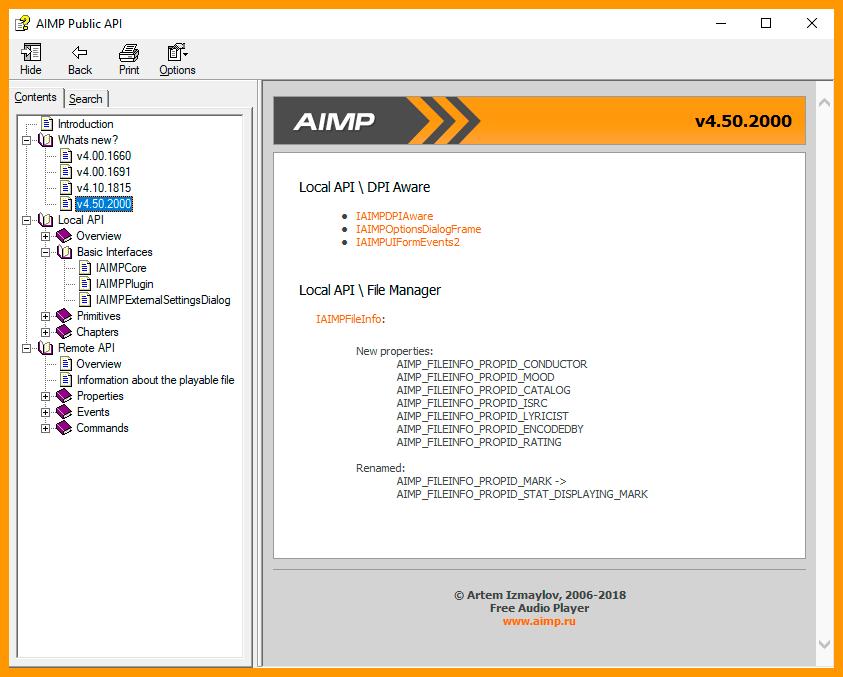 AIMP-SDK